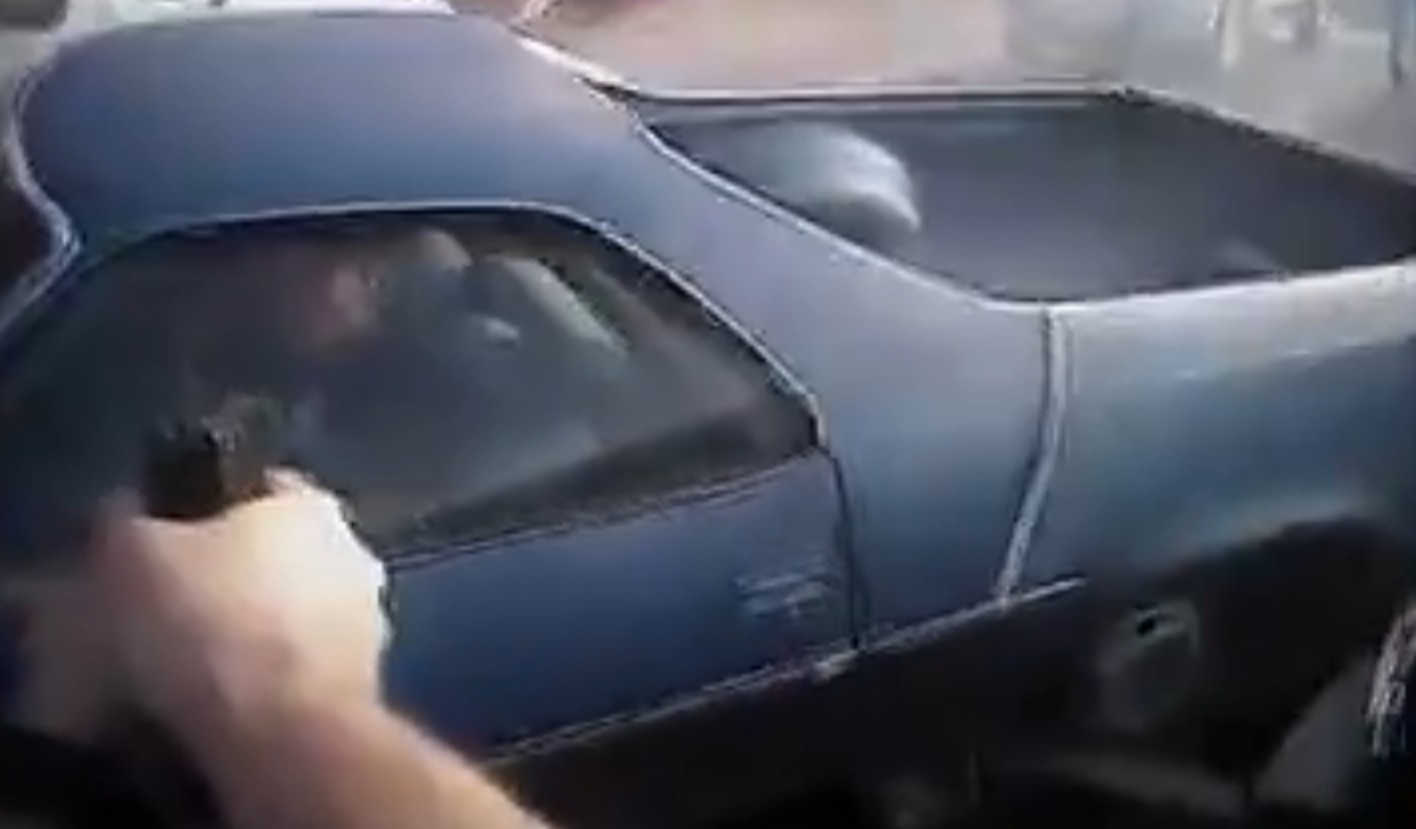 Police Chase Ends College Campus